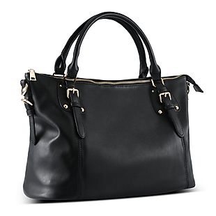 Faux-Leather Handbag $26 Shipped