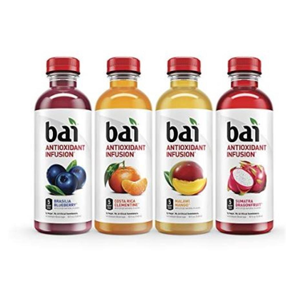 Bai Antioxidant Infused Beverages (Rainforest Variety, Pack of 12) $11.19