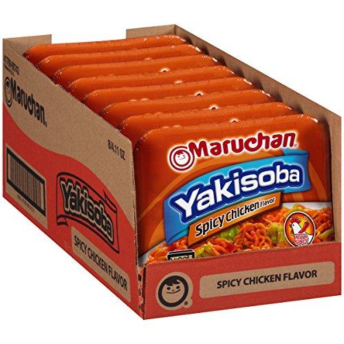 Maruchan Yakisoba Spicy Chicken Flavor (8-Pack, 4.11oz) $4.32