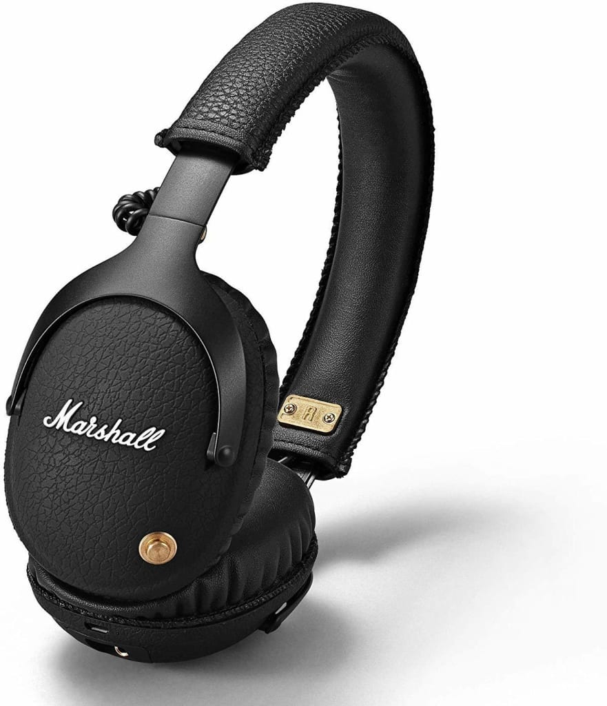 Marshall Amplification Marshall Monitor Bluetooth Over-Ear Headphones for $130 + free shipping