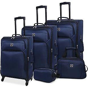 Macy's 5-Piece Luggage Set $100 Shipped