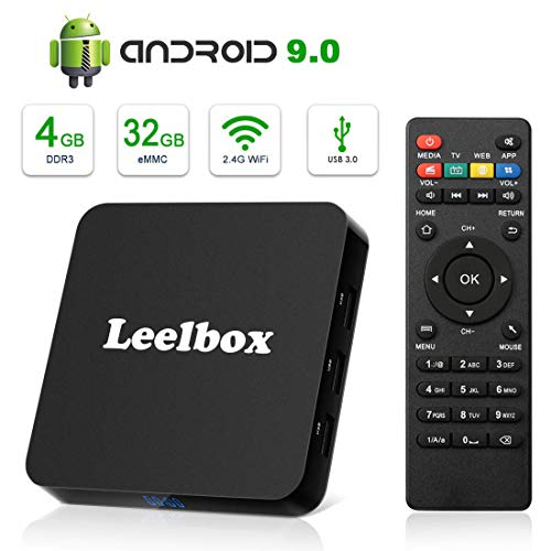 Leelbox Q4 32GB Android 9.0 TV Box for $38 + free shipping