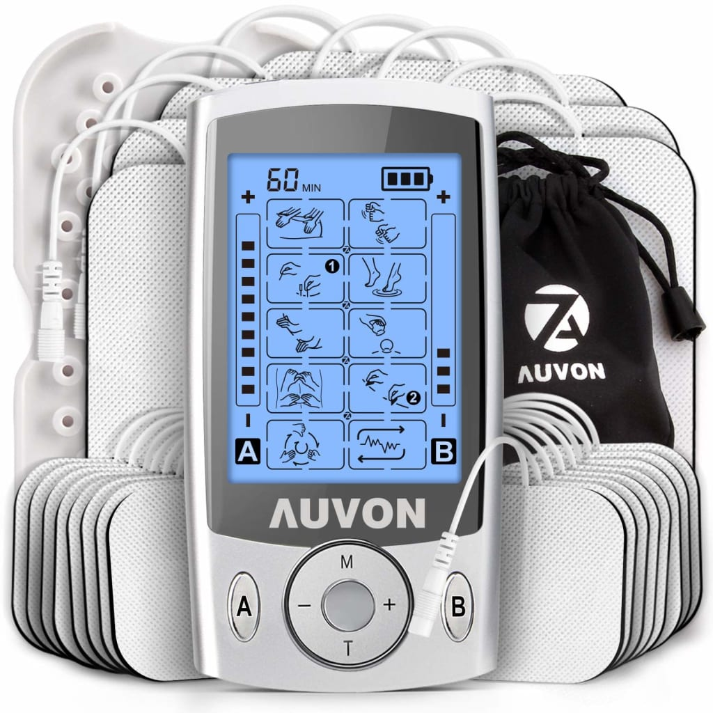 Auvon TENS Unit Muscle Stimulator for $35 + free shipping