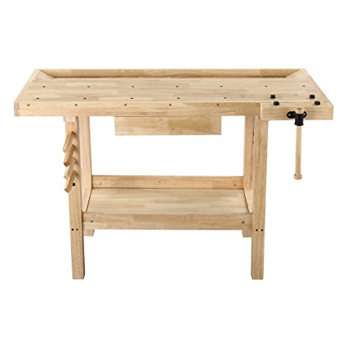 Olympia Tools Hard Wood Workbench for $126 + free shipping