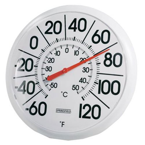 Taylor 8″ Indoor/Outdoor Thermometer for $6 + free shipping w/Prime