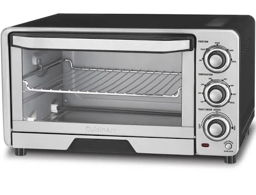 Cuisinart Custom Stainless Steel Classic Toaster Oven Broiler from $39.99