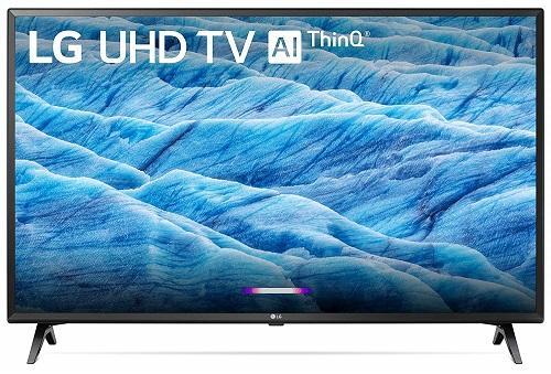 LG 50UM7300PUA 50″ 4K UltraHD HDR Smart ThinQ TV $314.99