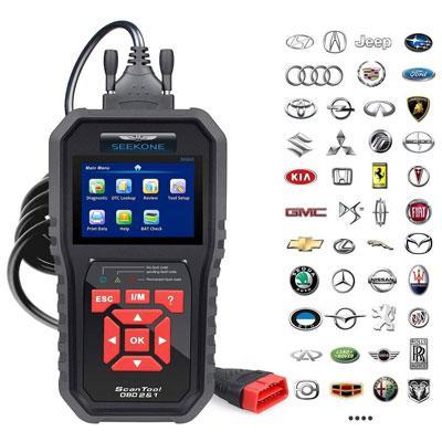 Seekone OBD2 Auto Diagnostic Car Scanner $19.63