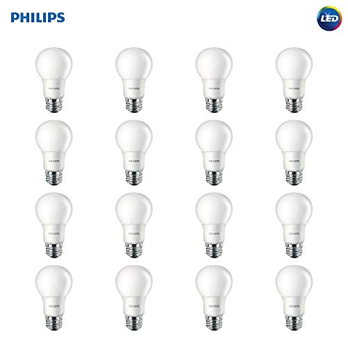 Philips 60W Equivalent LED Light Bulb 16-Pack for $18 + free shipping w/ Prime